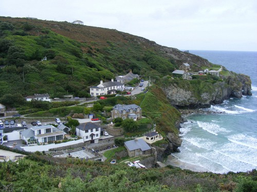 St Agnes Lifeboat -The Village